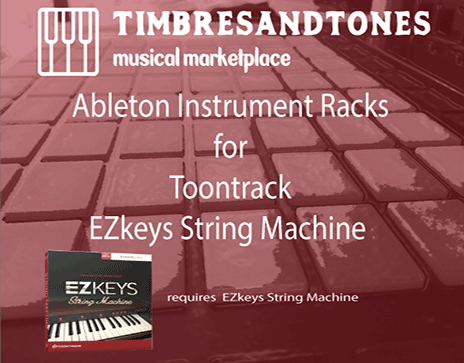 Ableton Instrument Racks for EZkeys String Machine