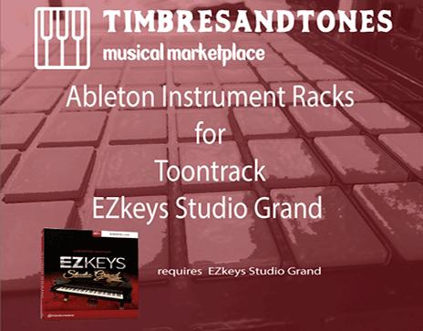 Ableton Instrument Racks for EZkeys Studio Grand