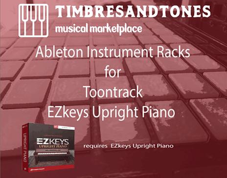 Ableton Instrument Racks for EZkeys Upright Piano