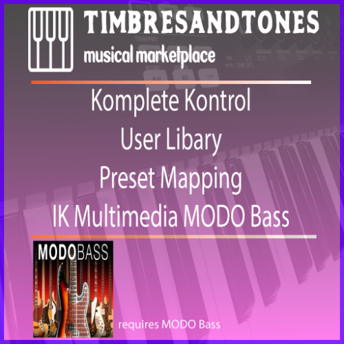 Komplete Control NKS User Library for MODO Bass 1.5