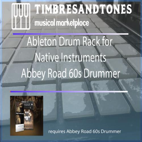 Ableton Drum Racks Native Instruments Abbey Road 60s Drummer