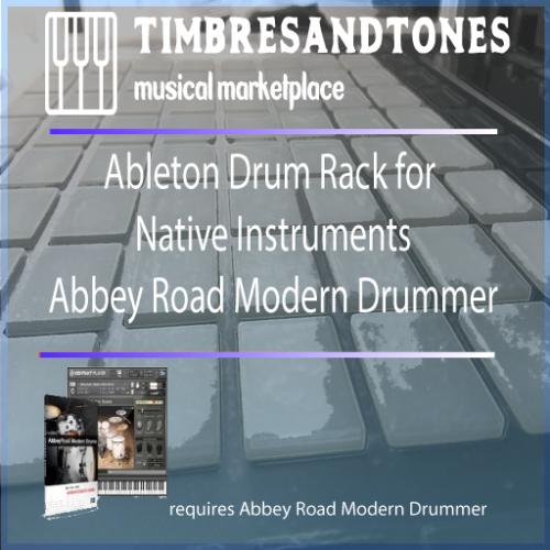 Ableton Drum Racks for Native Instruments Abbey Road Modern Drummer