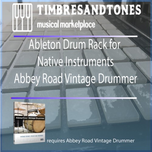 Ableton Drum Racks Native Instruments Abbey Road Vintage Drummer