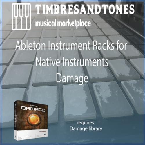 Ableton Instrument Racks for Native Instruments Damage