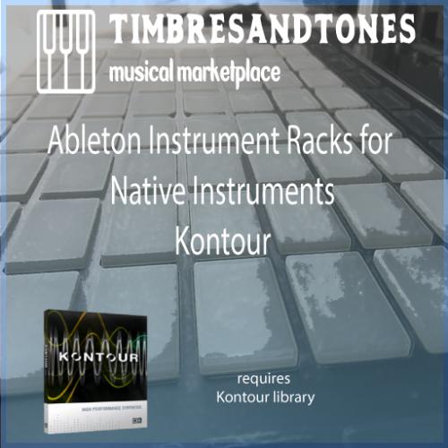 Ableton Instrument Racks for Native Instruments Kontour
