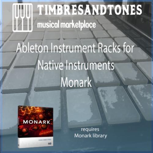 Ableton Instrument Racks for Native Instruments Monark