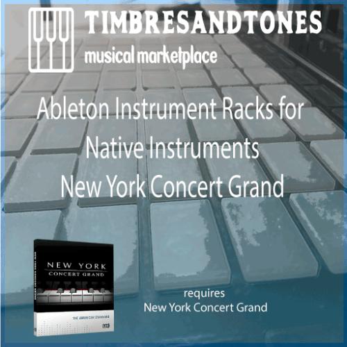 Ableton Instrument Racks for Native Instruments New York Concert Grand