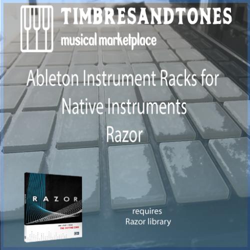Ableton Instrument Racks for Native Instruments Razor