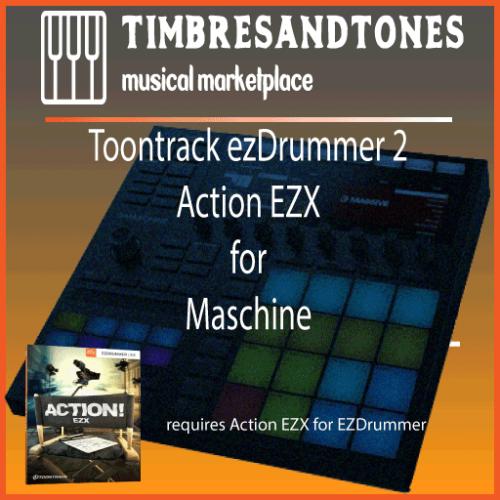 ezDrummer 2 Action EZX for Maschine