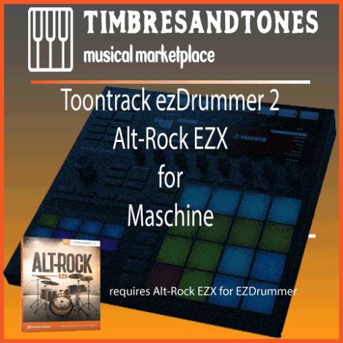 ezDrummer 2 Alt Rock EZX for Maschine