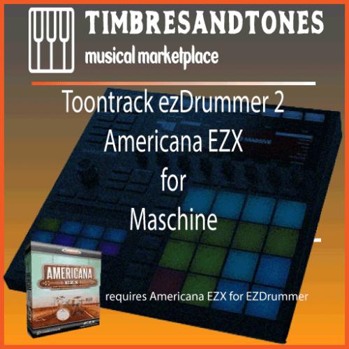 ezDrummer 2 Americana EZX for Maschine