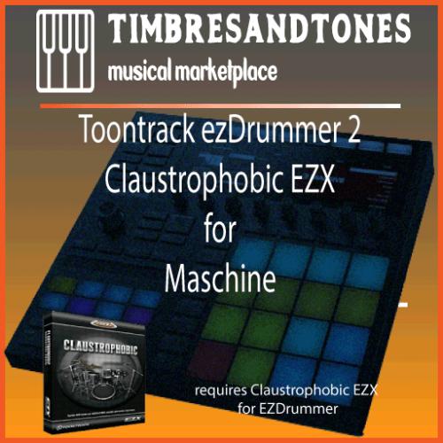 ezDrummer 2 Claustrophobic EZX for Maschine