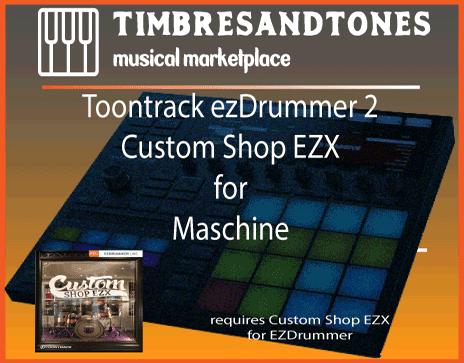 ezDrummer 2 Custom Shop EZX for Maschine