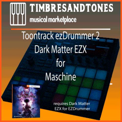 ezDrummer 2 Dark Matter EZX for Maschine