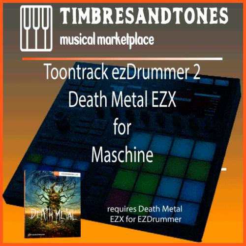 ezDrummer 2 Death Metal EZX for Maschine