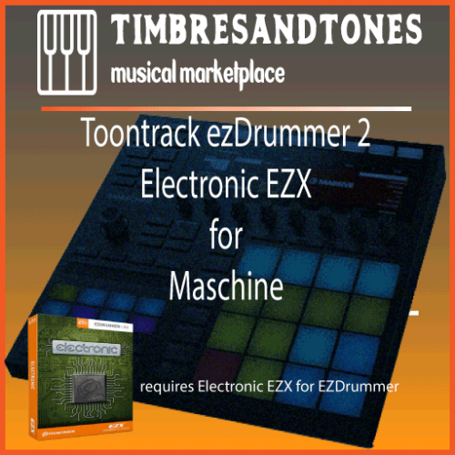 ezDrummer 2 Electronic EZX for Maschine