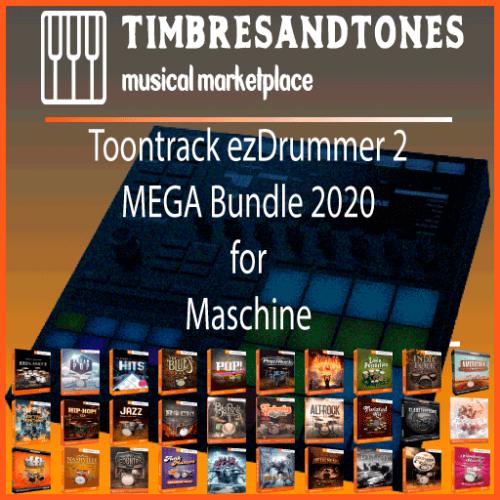 ezDrummer 2 MEGA Bundle 2020 for Maschine