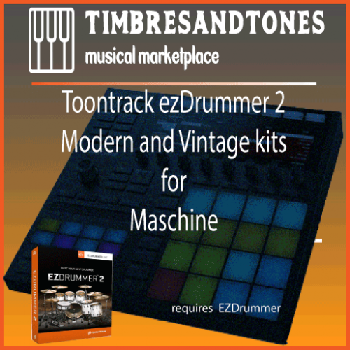 ezDrummer 2 Factory Library for Maschine