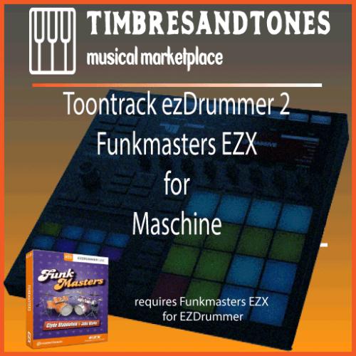 ezDrummer 2 Funkmasters EZX for Maschine