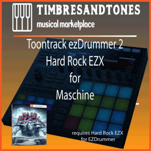 ezDrummer 2 Hard Rock EZX for Maschine