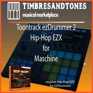 ezDrummer 2 Hip Hop EZX for Maschine