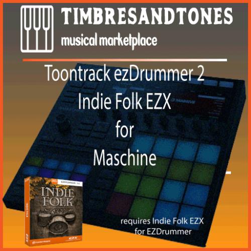 ezDrummer 2 Indie Folk EZX for Maschine