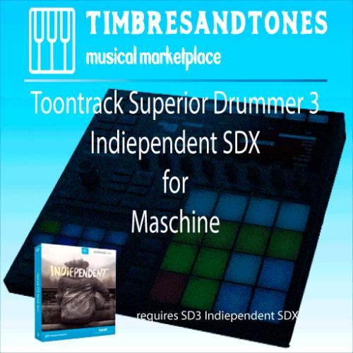 Superior Drummer 3 Indiependent SDX for Maschine