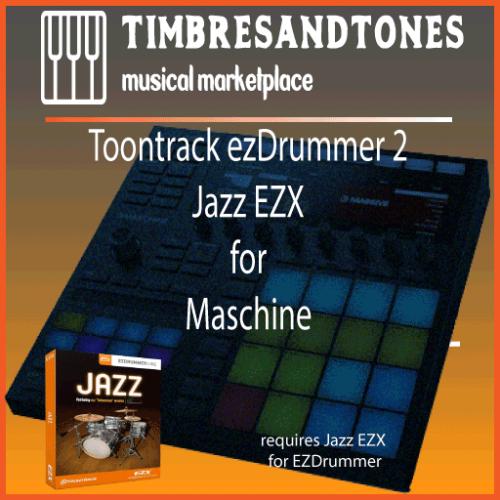 ezDrummer 2 Jazz EZX for Maschine
