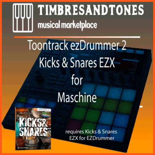 ezDrummer 2 Kicks & Snares EZX for Maschine