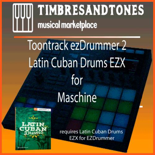 ezDrummer 2 Latin Cuban Drums EZX for Maschine