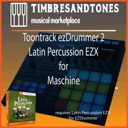 ezDrummer 2 Latin Percussion EZX for Maschine