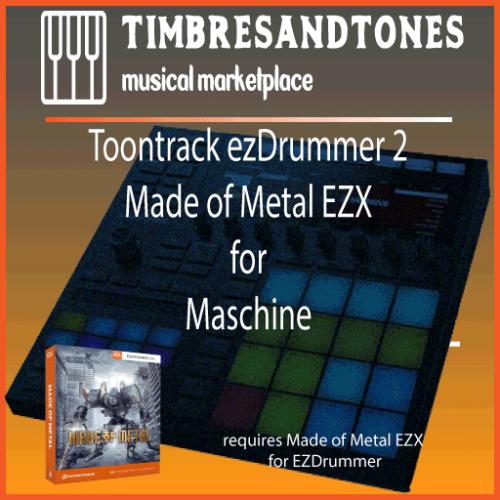 ezDrummer 2 Made of Metal EZX for Maschine