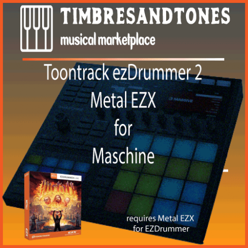 ezDrummer 2 Metal EZX for Maschine