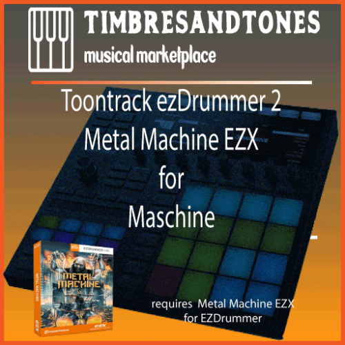 ezDrummer 2 Metal Machine EZX for Maschine