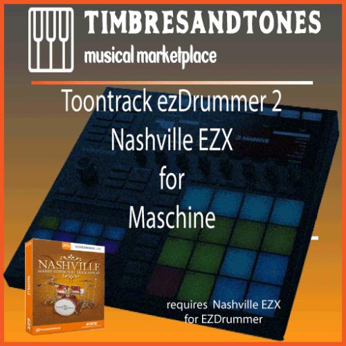 ezDrummer 2 Nashville EZX for Maschine