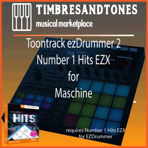 ezDrummer 2 Number 1 Hits EZX for Maschine