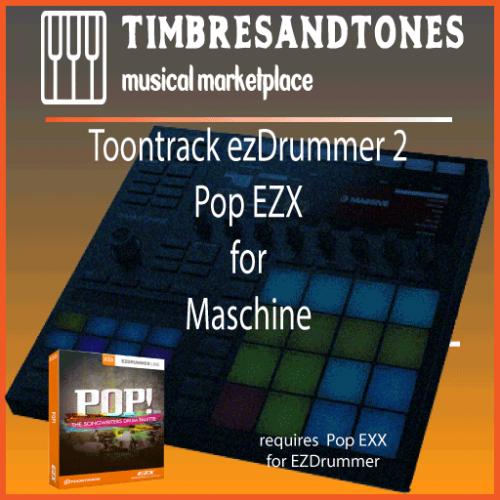 ezDrummer 2 Pop EZX for Maschine