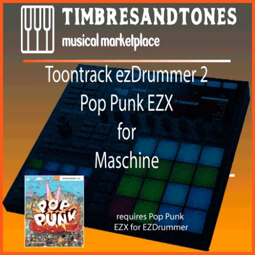 ezDrummer 2 Pop Punk EZX for Maschine