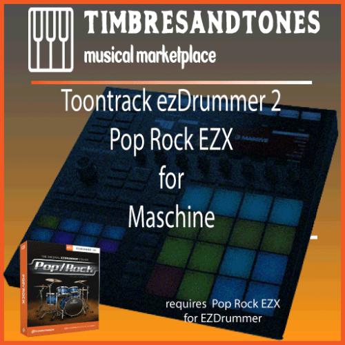 ezDrummer 2 Pop Rock EZX for Maschine