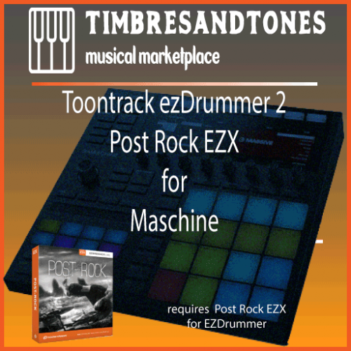 ezDrummer 2 Post Rock EZX for Maschine