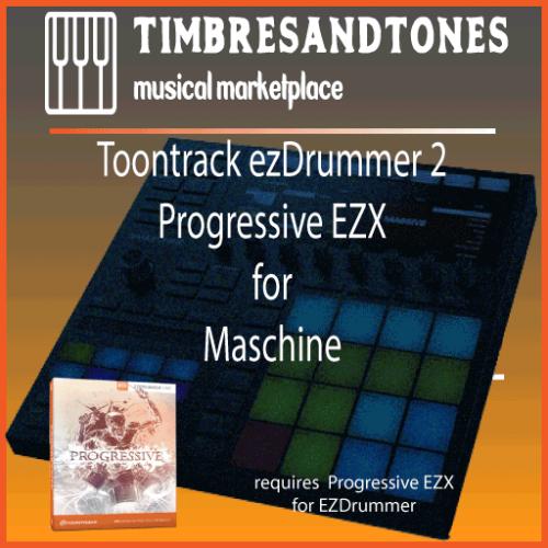 ezDrummer 2 Progressive EZX for Maschine