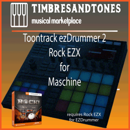 ezDrummer 2 Rock EZX for Maschine