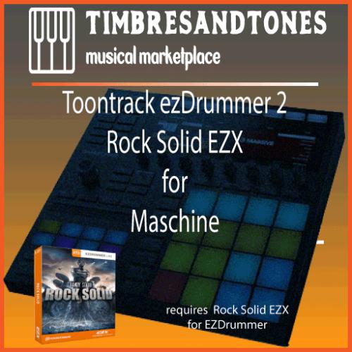 ezDrummer 2 Rock Solid EZX for Maschine