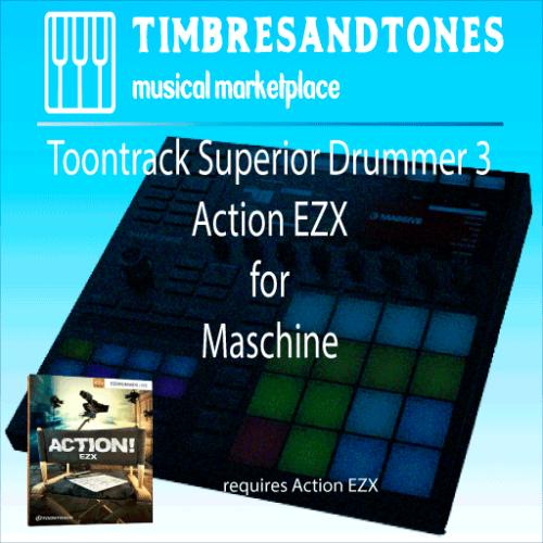 Superior Drummer 3 Action EZX for Maschine