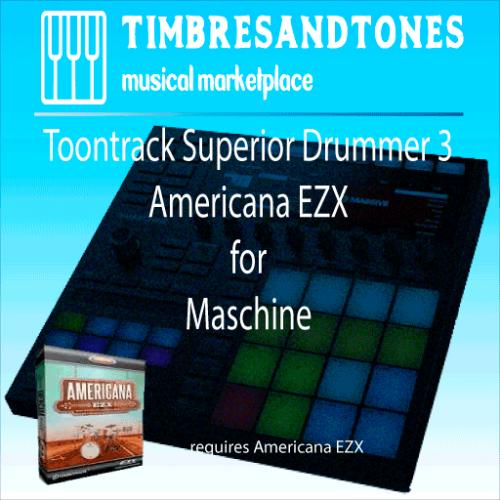 Superior Drummer 3 Americana EZX for Maschine
