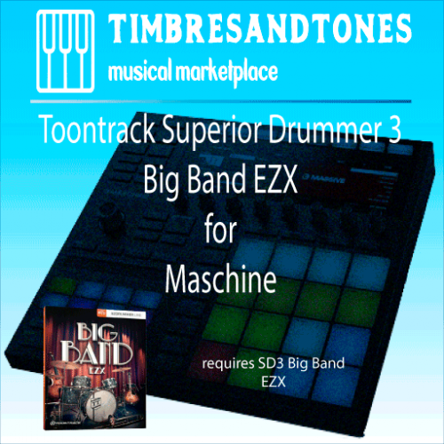 Superior Drummer 3 Big Band EZX for Maschine
