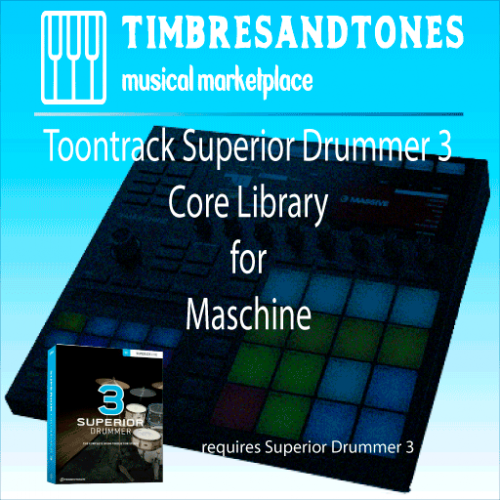 Superior Drummer 3 Core Library for Maschine