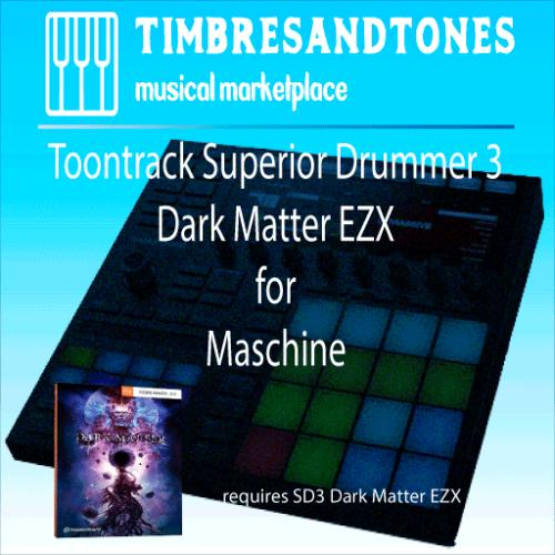 Superior Drummer 3 Dark Matter EZX for Maschine