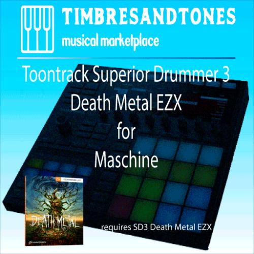 Superior Drummer 3 Death Metal EZX for Maschine