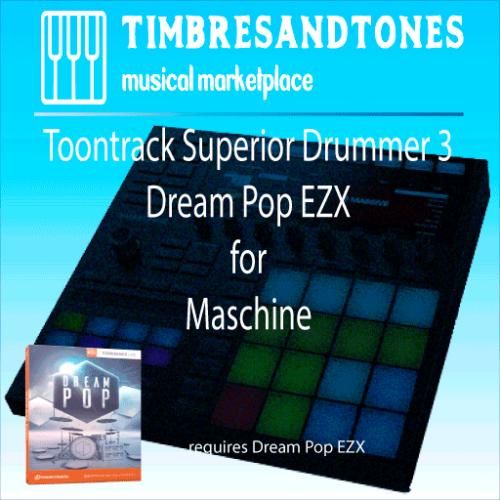 Superior Drummer 3 Dream Pop EZX for Maschine